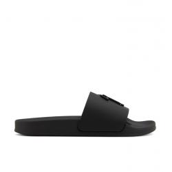 giuseppe zanotti nouveautés sandales Flip FlopGZ H CLAQUETTE (1) - PVC - NOIR