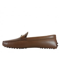 tod's mocassins & slippers Mocassins Gommino Double TTODTIE - CUIR - CACAO