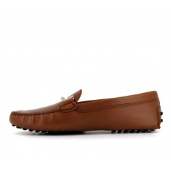 tod's mocassins & slippers Mocassins Gommino Double TTODTIE - CUIR - GOLD
