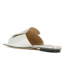 sergio rossi promotions sandales Sandales SR1SR MULE SLIDE - CUIR IRISÉ - ARG