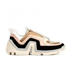 pierre hardy nouveautés sneakers Sneakers VibePHF VIBE F - CUIR - NOIR, ROSE E