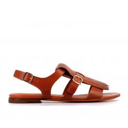 santoni promotions sandales Sandales BrigitteBRIGITTE FRANGE - CUIR - GOLD
