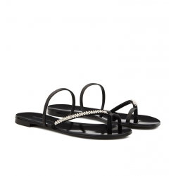 giuseppe zanotti nouveautés sandales Sandales MiriaGZ F MULE BAGUE - NUBUCK, CUIR E