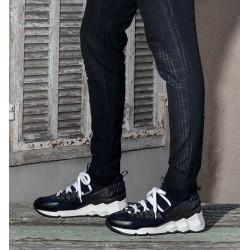 pierre hardy nouveautés sneakers Sneakers Trek CometPHH LX01 COMET - CUIR ET NÉOPRÈN
