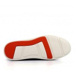 santoni nouveautés sneakers SneakersCLINE - CUIR GRAINÉ - KAKI
