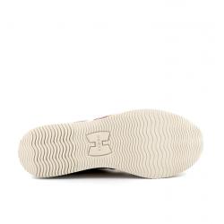 hogan nouveautés sneakers Sneakers H222ELIUM 2 - NUBUCK ET CUIR - BEIGE