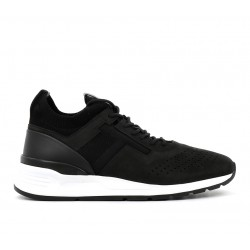 tod's promotions sneakers SneakersRUN NEW - NUBUCK ET TOILE - NOIR