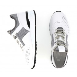 tod's promotions sneakers SneakersRUN NEW - CUIR ET TOILE - ÉCRU E
