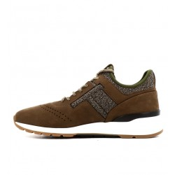 tod's promotions sneakers SneakersRUN NEW - NUBUCK ET TISSUS - MAR