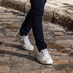 giuseppe zanotti nouveautés sneakers Sneakers FrankieGZ H FRANKIE - CUIR GRAINÉ ET SO