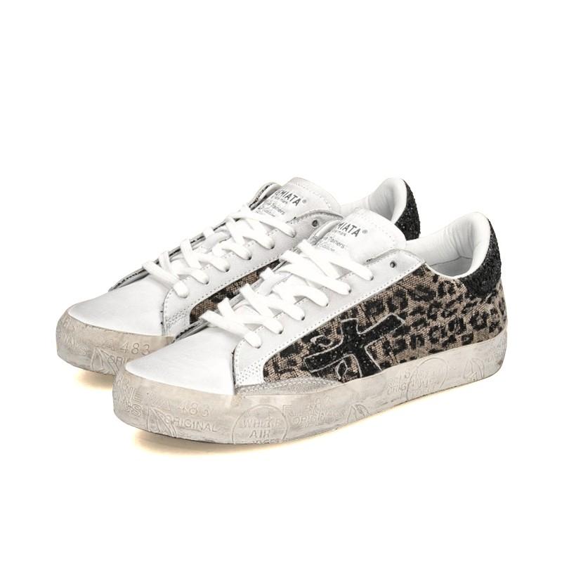 premiata sneakers Sneakers StevenPREMIATA F STEVEN - CUIR ET TOIL