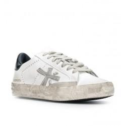premiata nouveautés sneakers Sneakers StevenPREMIATA F STEVEN - CUIR - BLANC