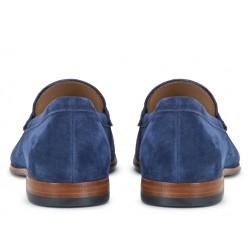 tod's mocassins et slippers MocassinsPEMOC - NUBUCK - BLEU