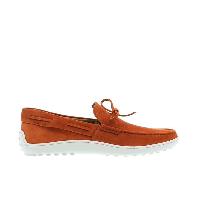 tod's mocassins et slippers MocassinsTODBAS LACETS 2 - NUBUCK - ORANG