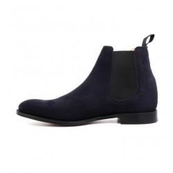 church's nouveautés boots et bottillons Bottines à élastiques HoustonHOUSTON - SUEDE - BLUE