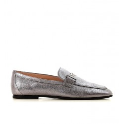 tod's mocassins & slippers Mocassins Double TTODTIE LOAFER3 - CUIR IRISÉ - AR