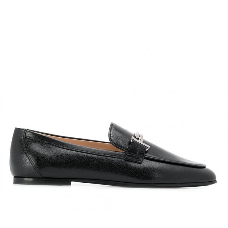 tod's mocassins & slippers Mocassins Double TTODTIE LOAFER3 - CUIR IRISÉ - NO