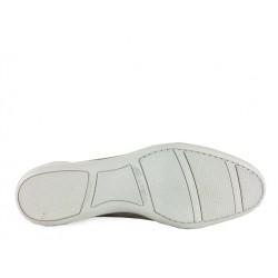 santoni nouveautés sneakers Sneaker AnversANVERS - NUBUCK - BEIGE