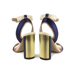 giorgio armani promotions sandales SandalesAR SAND PLISS T10 - SATIN - MARI