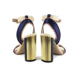 giorgio armani sandales SandalesAR SAND PLISS T10 - SATIN - MARI