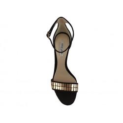 giorgio armani promotions sandales SandalesAR SAND METAL T105 - NUBUCK - NO