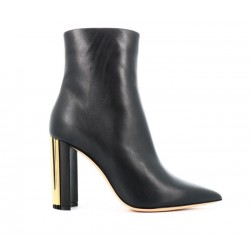 Giorgio Armani promotions bottines BootsAR BOOTS PLISS T95 - CUIR - NOIR