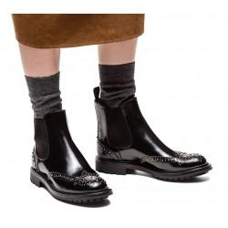 church's nouveautés bottines Boots Aura 2AURA 2 - CUIR CLOUTÉ - NOIR