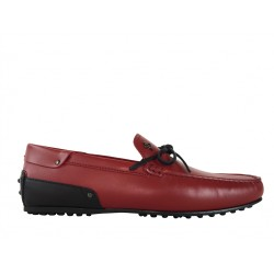 tod's promotions mocassins Mocassins City GomminoBABYLONE FERRARI - CUIR - ROUGE