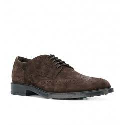 tod's promotions derbies et richelieux DerbyBARON 2 - NUBUCK - MARRON