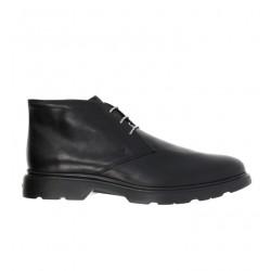 hogan nouveautés boots et bottillons Bottines à lacetsBARBO 2 - CUIR - NOIR