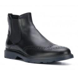 hogan boots et bottillons BootsBARBOOTS - CUIR - NOIR