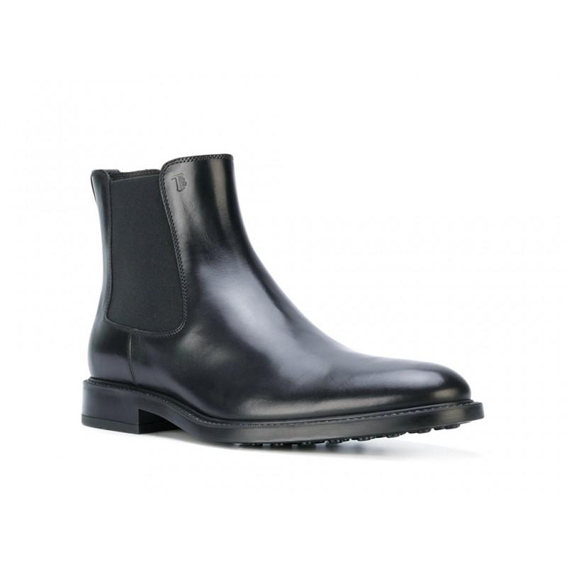 tod's boots et bottillons BootsBASTON 2 - CUIR - NOIR