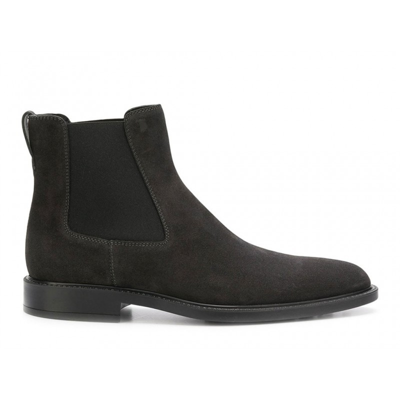 tod's promotions boots et bottillons BootsBASTON 2 - NUBUCK - GRIS