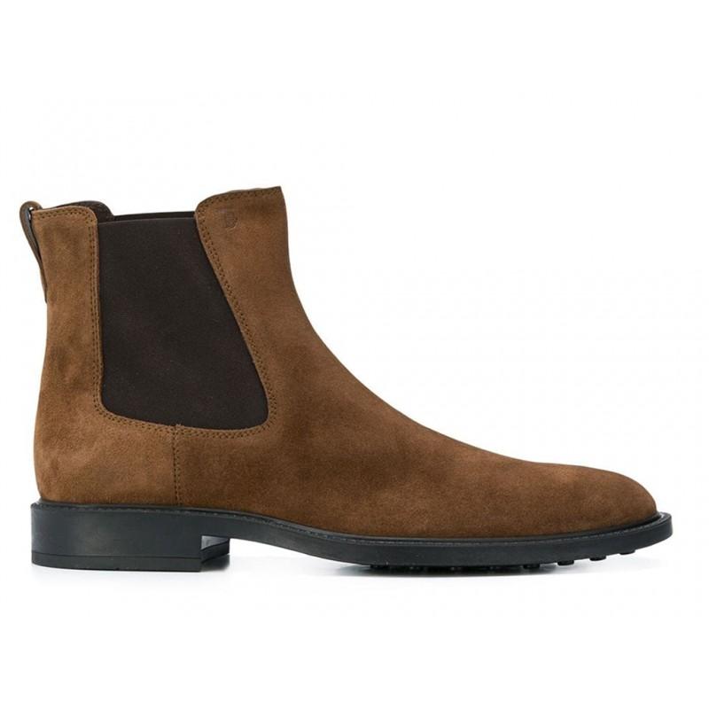 tod's promotions boots et bottillons BootsBASTON 2 - NUBUCK - NOISETTE
