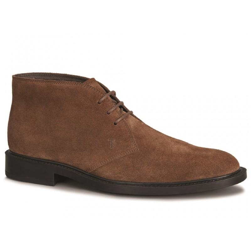 tod's boots et bottillons BottinesBASTILL 2 - NUBUCK - NOISETTE