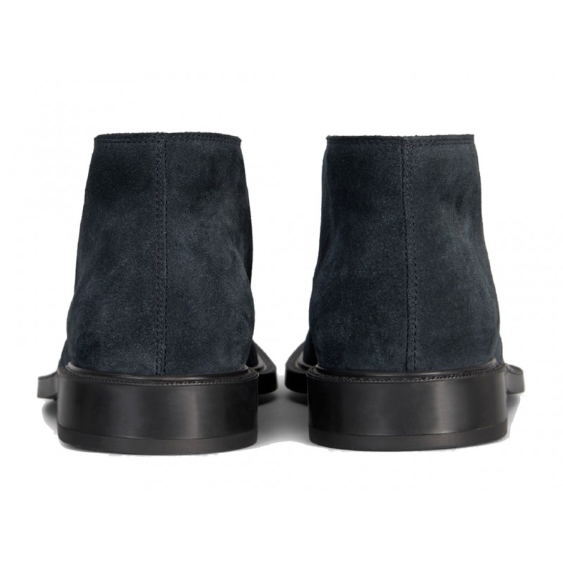 tod's promotions boots et bottillons BottinesBASTILL 2 - NUBUCK - BLEU