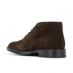tod's promotions boots et bottillons BottinesBASTILL 2 - NUBUCK - CHOCOLAT