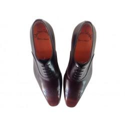 santoni promotions derbies et richelieux Boots BorisBORIS 4 - CUIR - MARRON ÉCLAIRÉ
