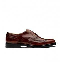church's derbies & richelieux Richelieux BurwoodBURWOOD F - CUIR - CHESTNUT