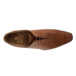 crockett & jones nouveautés derbies et richelieux Richelieux AlexC&J ALEX - CUIR BURNISHED - TAN