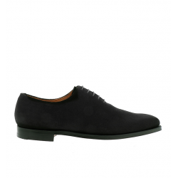 crockett & jones nouveautés derbies et richelieus Richelieux AlexC&J ALEX - SUEDE - BLACK
