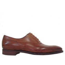 crockett & jones promotions derbies et richelieux Richelieux Beaumont 2C&J BEAUMONT 2 - CUIR - TAN ANTI