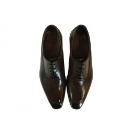 crockett & jones promotions derbies et richelieux Richelieux Beaumont 2C&J BEAUMONT 2 - CUIR - DARK BRO