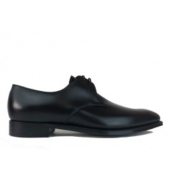 crockett & jones promotions derbies et richelieux Derby Barstow 2C&J BARSTOW 2 - CUIR - BLACK