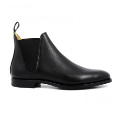 crockett & jones promotions boots et bottillons Boots Chelsea VIIIC&J CHELSEA 8 - CUIR PEBBLE GRAI