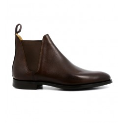 crockett & jones boots et bottillons Boots Chelsea VIIIC&J CHELSEA 8 - CUIR PEBBLE GRAI