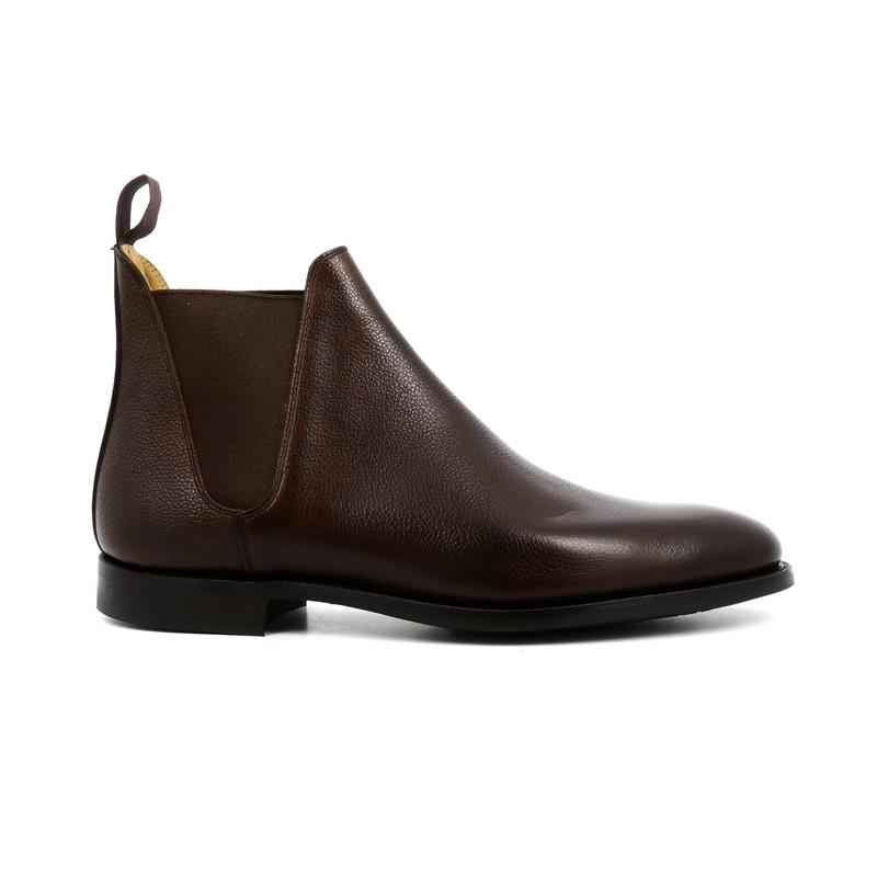 crockett & jones promotions boots et bottillons Boots Chelsea VIIIC&J CHELSEA 8 - CUIR PEBBLE GRAI