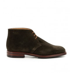 crockett & jones nouveautés boots et bottillons Bottines Chiltern IIC&J CHILTERN - SUEDE - GREEN