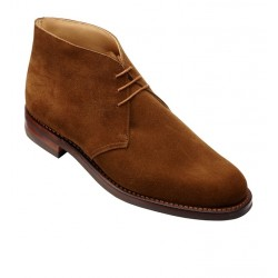 crockett & jones nouveautés boots et bottillons Bottines Chiltern IIC&J CHILTERN - SUEDE - SNUFF TAB