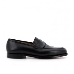 crockett & jones mocassins et slippers Mocassins GranthamC&J GRANTHAM - CUIR - BLACK